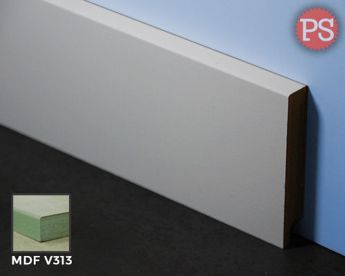 Plintenstunter - gladde plint mdf-v313