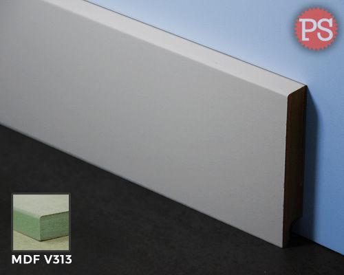 Afbeelding van gladde plint mdf-v313