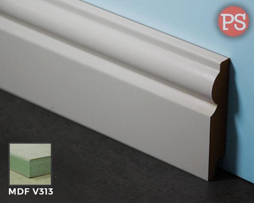 Plintenstunter - sier plint mdf-v313