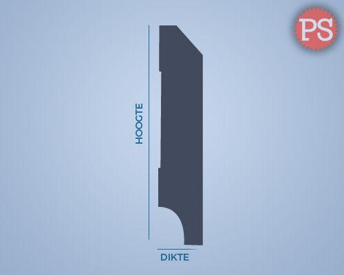 edge plint mdf-v313 doorsnede