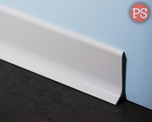 witte plint aluminium