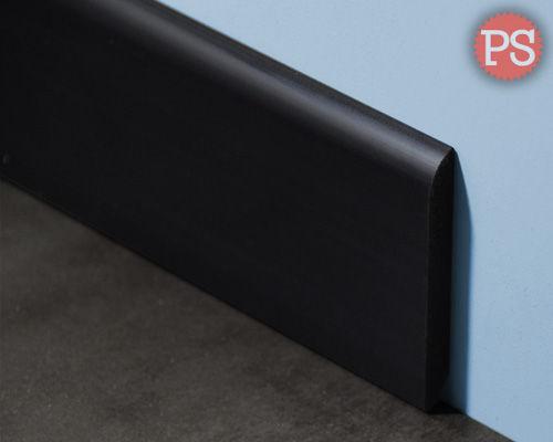 massieve plint zwart kunststof