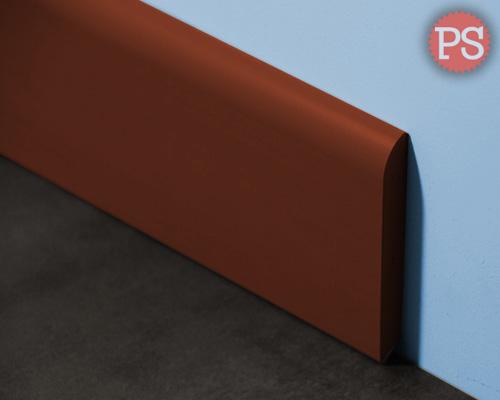 massieve plint bruin kunststof
