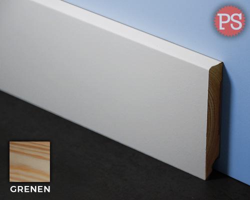 gladde plint grenen-gelakt-ral9010