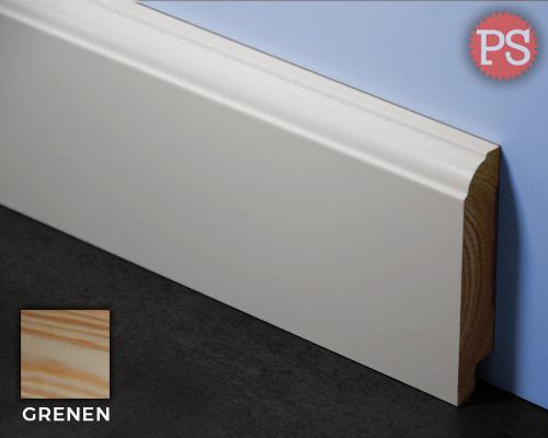 kraal plint grenen-gelakt-ral9010