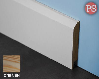 edge plint grenen-gelakt-ral9010