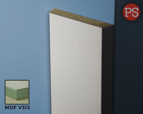 Plintenstunter - deurlijst trapeze mdf-v313