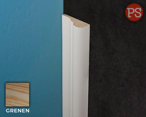sierlijst silya grenen-gelakt-ral9010
